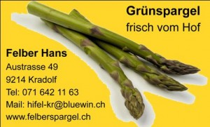 Grünspargel Ab Hof